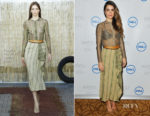 Nikki Reed In Sophie Theallet - 'Bayou With Love' Jewelry Launch