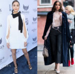 Olivia Culpo In Elisabetta Franchi, Nina Ricci & Philosophy di Lorenzo Serafini - Pegasus World Cup & Out In New York City