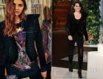 Penelope Cruz In Balmain - The Ellen DeGeneres Show
