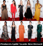 Who Was Your Best Dressed At The 2018 Producers Guild Awards?
