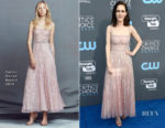 Rachel Brosnahan In Zuhair Murad - 2018 Critics' Choice Awards