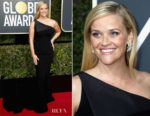 Reese Witherspoon In Zac Posen - 2018 Golden Globe Awards