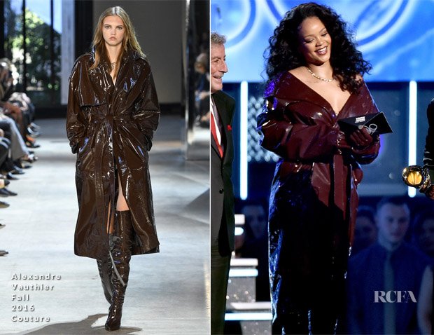 Rihanna In Alexandre Vauthier Couture