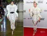 Rita Ora In Zuhair Murad Couture - Grammy Salute To Industry Icons Honoring Jay-Z