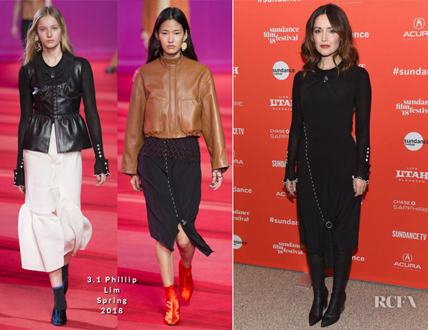 Rose Byrne In 3.1 Phillip Lim -  'Juliet, Naked'  Sundance Film Festival Premiere