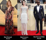2018 SAG Awards Fashion Critics' Roundup