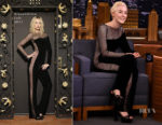 Saoirse Ronan In Alexandrine - The Tonight Show Starring Jimmy Fallon