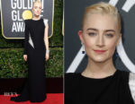 Saoirse Ronan In Atelier Versace - 2018 Golden Globe Awards