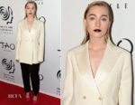 Saoirse Ronan In Calvin Klein - 2017 New York Film Critics Awards