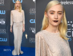 Saoirse Ronan In Michael Kors Collection - 2018 Critics' Choice Awards