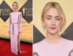 Saoirse Ronan In Louis Vuitton - 2018 SAG Awards