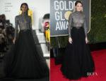 Shailene Woodley In Ralph Lauren Collection - 2018 Golden Globe Awards