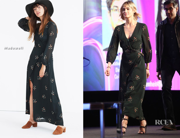 Sofia Boutella In Madewell - 2018 Winter TCA Tour