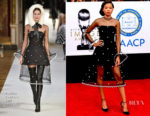 Storm Reid In Yanina Couture - 2018 NAACP Image Awards