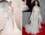 Sza In Atelier Versace - 2018 Grammy Awards