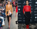 Tessa Thompson In Lingua Franca & Altuzarra - Women at Sundance Brunch