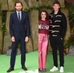 Tom Hiddleston In Gucci & Eddie Redmayne In Burberry - 'Early Man' London Premiere