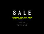 Get An Additional 20% Off The Topshop Sale