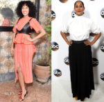 "Tracee Ellis Ross In Proenza Schouler & Rosetta Getty - W Magazine ""It Girl"" Luncheon & TCA Winter Press Tour"