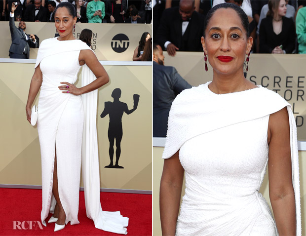 Tracee Ellis Ross In Ralph & Russo Couture - 2018 SAG Awards