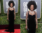 Viola Davis In Brandon Maxwell - 2018 Golden Globe Awards