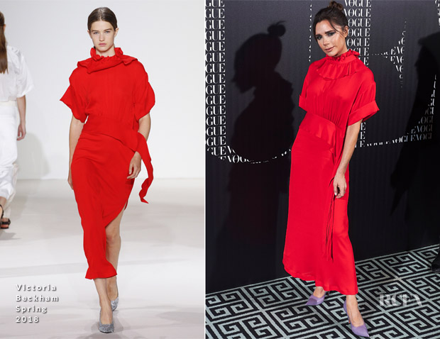 Vogue Spain's Dinner For Victoria Beckham