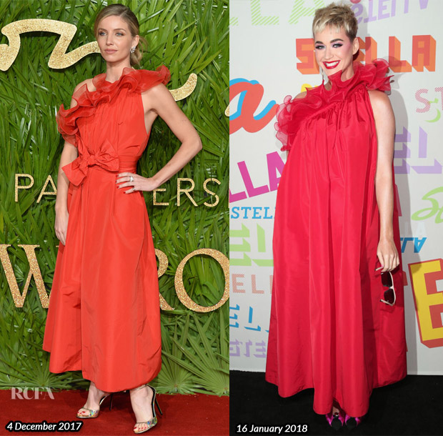Who Wore Stella McCartney Better? Annabelle Wallis or Katy Perry?