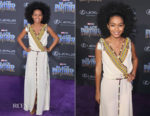 Yara Shahidi In Etro - 'Black Panther' World Premiere