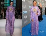 Yara Shahidi In Giambattista Valli Couture - 2018 Critics' Choice Awards