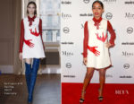 Yara Shahidi In Schiaparelli Couture - Marie Claire's 3rd Annual Image Makers Awards