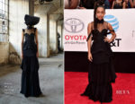 Yara Shahidi In Vera Wang - 2018 NAACP Image Awards