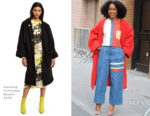 Yara Shahidi In Thom Browne & Opening Ceremony - The View