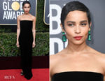 Zoe Kravitz In Saint Laurent - 2018 Golden Globe Awards