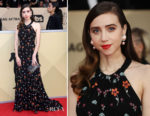 Zoe Kazan In Miu Miu - 2018 SAG Awards