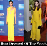 Best Dressed Of The Week - Gal Gadot In Esteban Cortázar & Michelle Monaghan In Brandon Maxwell
