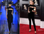 Miley Cyrus In Jean-Paul Gaultier Couture - 2018 Grammy Awards
