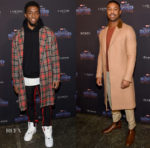 'Black Panther' New York Promo Tour Menswear Roundup