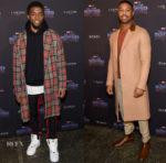 'Black Panther' New York Promo Tour Menswear Roundup