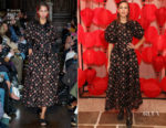 Alexa Chung In Simone Rocha - Wendy Yu's Chinese New Year Celebration