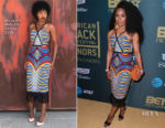 Angela Bassett In Mangishi Doll Co. - 2018 American Black Film Festival Honors Awards