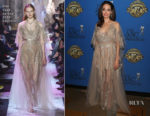 Angelina Jolie In Elie Saab Couture - 32nd Annual American Society Of Cinematographers Awards