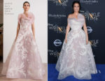 Bellamy Young In Azzi & Osta Couture - 'A Wrinkle In Time' LA Premiere