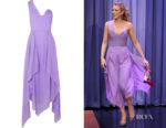Blake Lively's Roland Mouret Felcour One Shoulder Dress