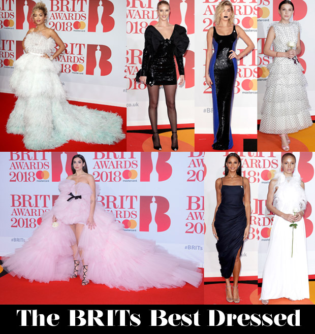 Who Was Your Best Dressed At The Brits 2018?