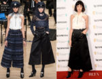 Caitriona Balfe In Chanel - EE British Academy Film Awards Nominees Party