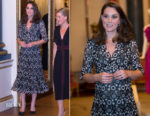 Catherine, Duchess of Cambridge In Erdem - The Commonwealth Fashion Exchange Reception