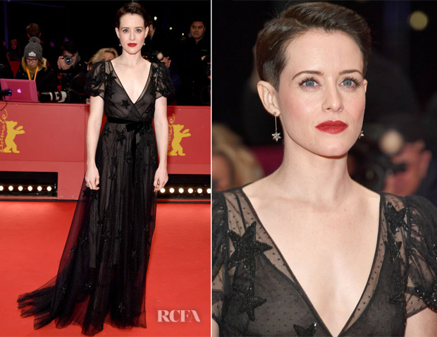 Claire Foy In Valentino - 'Unsane' Berlinale International Film Festival Premiere