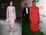 Danai Gurira In Christopher Kane - 4th Hollywood Beauty Awards