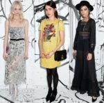 Dior & Sasha Pivovarova Celebrate The Launch Of The Spring-Summer 2018 Collection