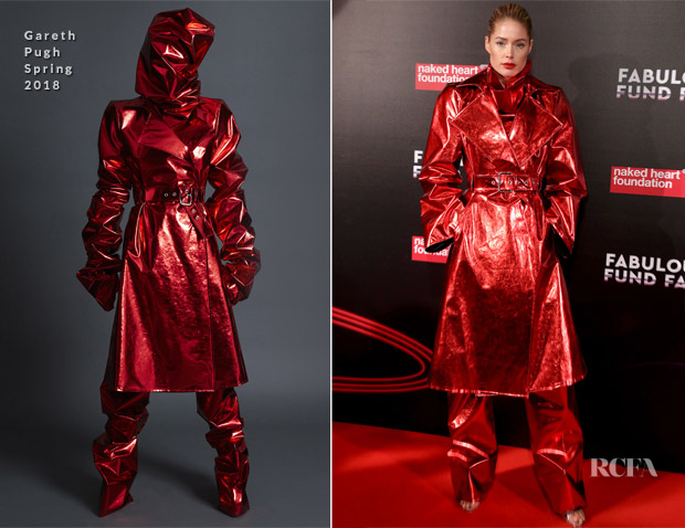 Doutzen Kroes In Gareth Pugh - Naked Heart Foundation's Fabulous Fund Fair